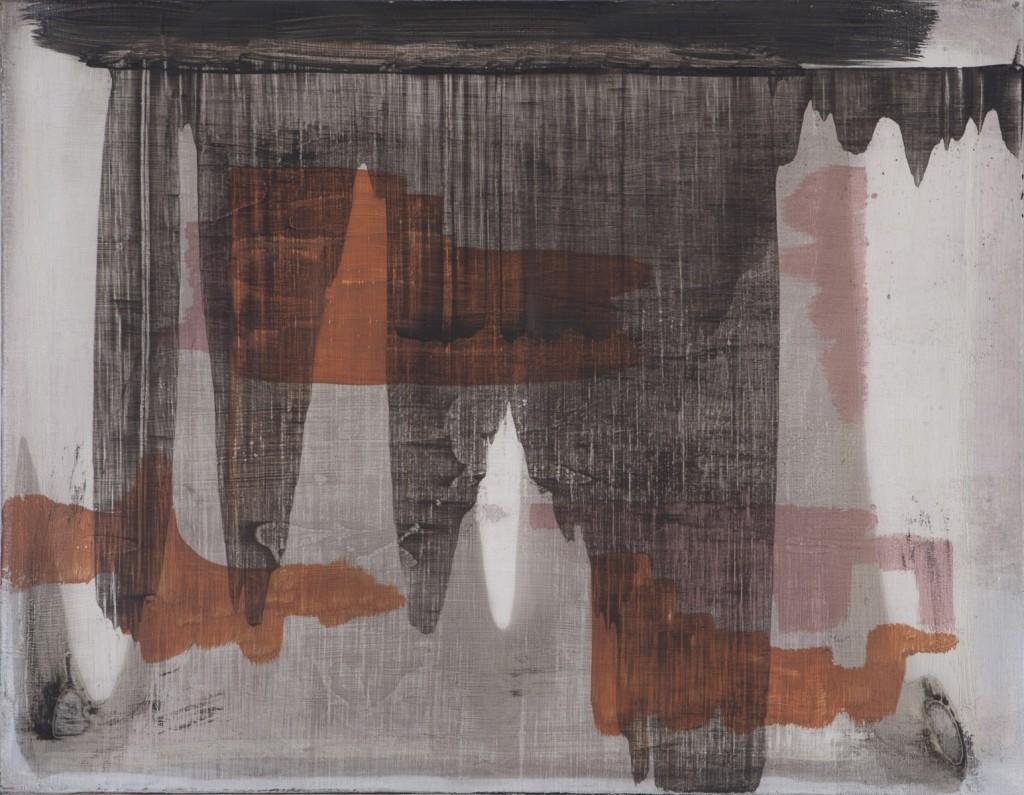 Erwin Bohatsch - o.T. (grau) - Malerei - 2007