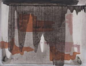 Erwin Bohatscho.T. (grau) - 2007 - 70 x 55 cm - Acryl auf Leinwand