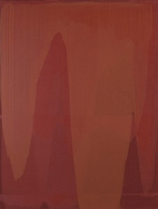Erwin Bohatsch - o.T. (rot) - Malerei - 2003