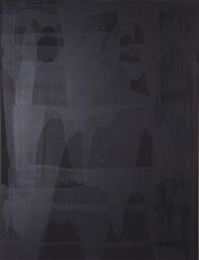 Erwin Bohatsch - o.T. (schwarz) - Malerei - 2003