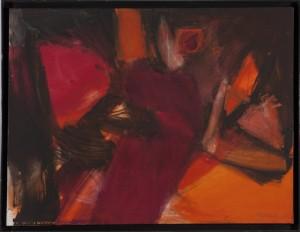 Ilse Burkelz - o.T. - Malerei - 1995