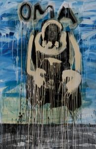 Christian Eisenberger - Oma - Malerei - 2007