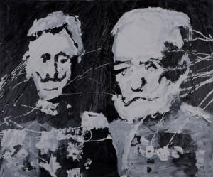 Christian Eisenberger - Portrait Kaiserpaar - Malerei - 2009