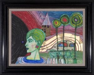 Friedensreich Hundertwasser - Versäumter Frühling - Malerei - 1966