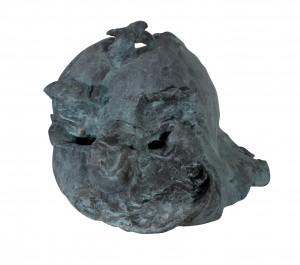 Karl Karner - Maske (02) - i think we have a good time - Serie Allan Greenspan - Skulptur - 2010