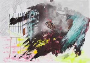 Karl Karner - Werksskizze - Malerei - 2009