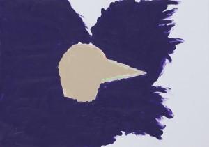 Karl Karner - öffentlicher Körper (violett) - Malerei - 2010