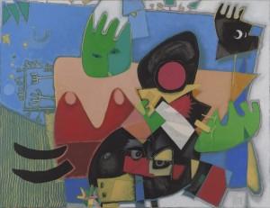 Christoph Kiefhaber - Biotop - Malerei - 1998