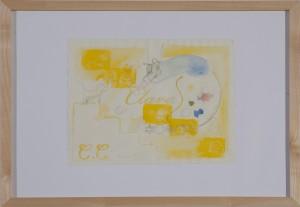 Bernd Koller - Clara - Zeichnung - 2010