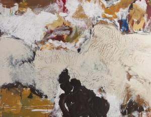 """Stefan Maitz - o.T. - aus der Serie """"Des Großen Zähmungskraft"""" - Malerei - 2003"""