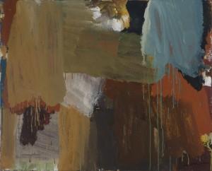 """Stefan Maitz - o.T. - aus der Serie """"Das Warten"""" - Malerei - 2001"""