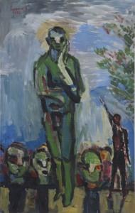 Alois Mosbacher - Gilles - Malerei - 1982