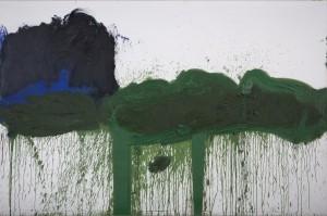 Hermann Nitsch - Das grüne Triptychon - Serie VII (03) - Malerei - 1992