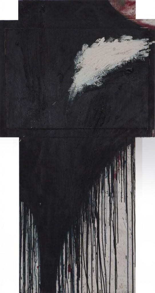 Arnulf Rainer - Kreuz - Skulptur - 1988