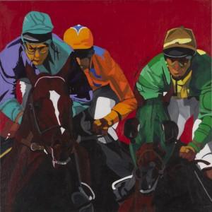 Verena Rotterdam - Jockeys - Malerei - 1991