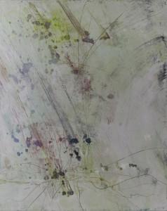 Hubert Scheibl - o.T. (hellgrün) - Malerei - 2003
