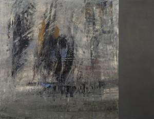 Hubert Scheibl - o.T. (Grau Cubus Kombination) - Malerei - 1993