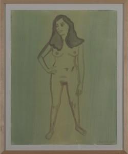 Hubert Schmalix - Nude (12) - Malerei - 2004