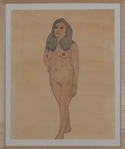 Hubert Schmalix - Nude (11) - Malerei - 2005