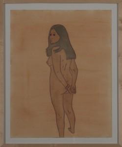 Hubert Schmalix - Nude (10) - Malerei - 2005