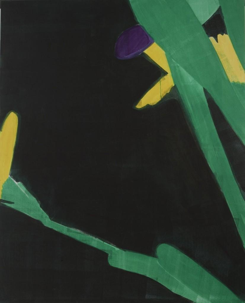 Hubert Schmalix - Blüte Gross - Malerei - 2001