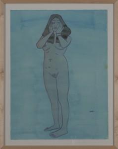 Hubert SchmalixNude (08) - 2005 - 51 x 66 cm - Aquarell auf Papier