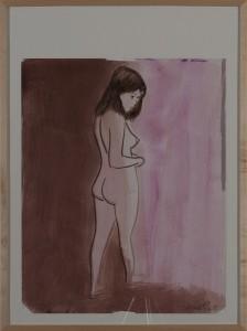 Hubert Schmalix - Nude (15) - Malerei - 2003