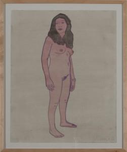 Hubert Schmalix - Nude (05) - Malerei - 2005