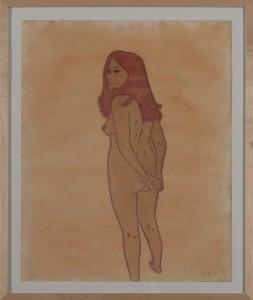 Hubert Schmalix - Nude (04) - Malerei - 2005