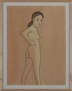 Hubert Schmalix - Nude (03) - Malerei - 2005