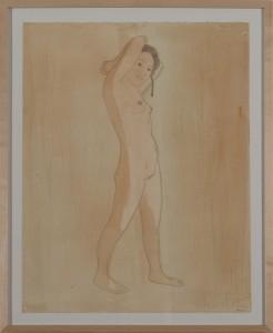 Hubert Schmalix - Nude (02) - Malerei - 2005