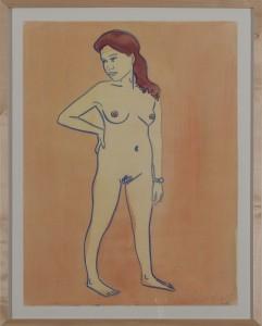 Hubert Schmalix - Nude (07) - Malerei - 2005