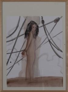 Hubert Schmalix - Nude (16) - Malerei - 2003