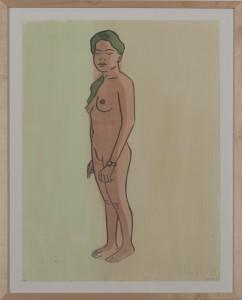 Hubert Schmalix - Nude (01) - Malerei - 2005
