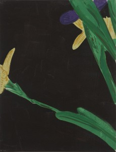 Hubert Schmalix - Blüte klein - Malerei - 2001