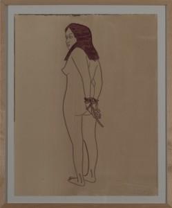 Hubert Schmalix - Nude (13) - Malerei - 2004