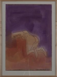 Hubert Schmalix - Nude (17) - Malerei - 2001