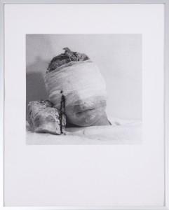 Rudolf Schwarzkogler4. Aktion/40 - 1966 - 34,5 x 34,5 cm - Silbergelatine