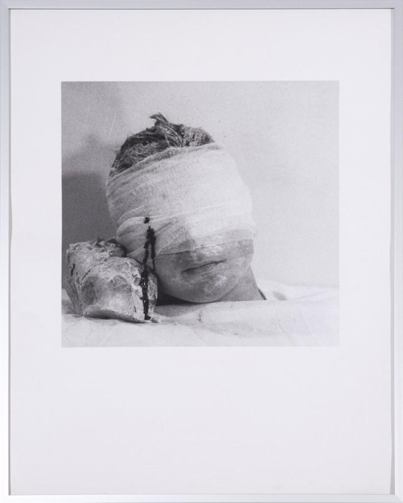 Rudolf Schwarzkogler - 4. Aktion/40 - Fotografie - 1966