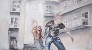 Laura Stadtegger - Auf der Flucht - Malerei - 2006