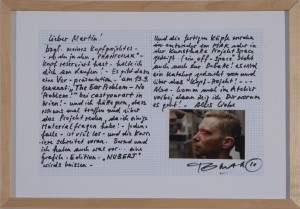 TomakSkizze zu Phantomak - 2010 - 42 x 29 cm - Filzstift und Foto auf Papier