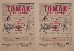 Tomak - The Ear Problem Plakat 2 Stück - Druck - 2010