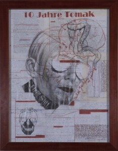Tomak - Michael Jackson der Malerei - (10 J. Tomak Zyklus) - Zeichnung - 2008