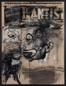 Tomak - Be an artist 03 - Triptychon - Malerei - 2010