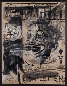 TomakBe an artist 01 - Triptychon - 2010 - je 110 x 150 cm - Öl, Acyrl auf Holz