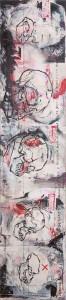 Tomak - Kasperl - Tryptichon - Malerei - 2011