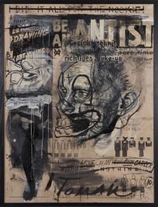 Tomak - Be an artist 02 - Triptychon - Malerei - 2010