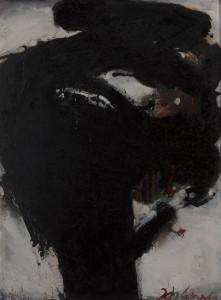 Johannes Wanke - Der Nussbaum - Malerei - 1987
