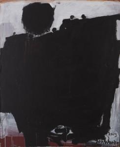 Johannes Wanke - Bergwerk - Malerei - 2003