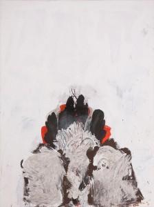 """Stefan Maitz - o.T. - aus der Serie """"nach Kraft jagen"""" - Malerei - 1984"""